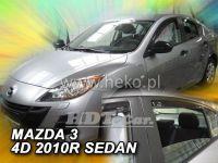 Ofuky oken MAZDA 3 sedan, 4D, 2009 =>, přední + zadní