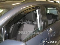 Ofuky oken MAZDA 5, 5D, 2006 =>, přední + zadní