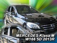 Ofuky oken Mercedes M W166 2011r =>, přední + zadní