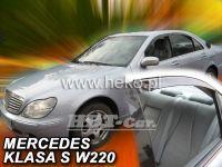 Ofuky oken MERCEDES S sedan W220, 4D, 1999r, => přední + zadní