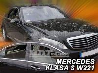 Ofuky oken Mercedes S W211 4D 2005 => +zadní krátká verze