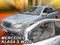 Ofuky oken MERCEDES S W220, 4D, 1999r, => přední