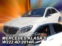 Ofuky oken MERCEDES S W222, 4D, 2013 =>, přední + zadní