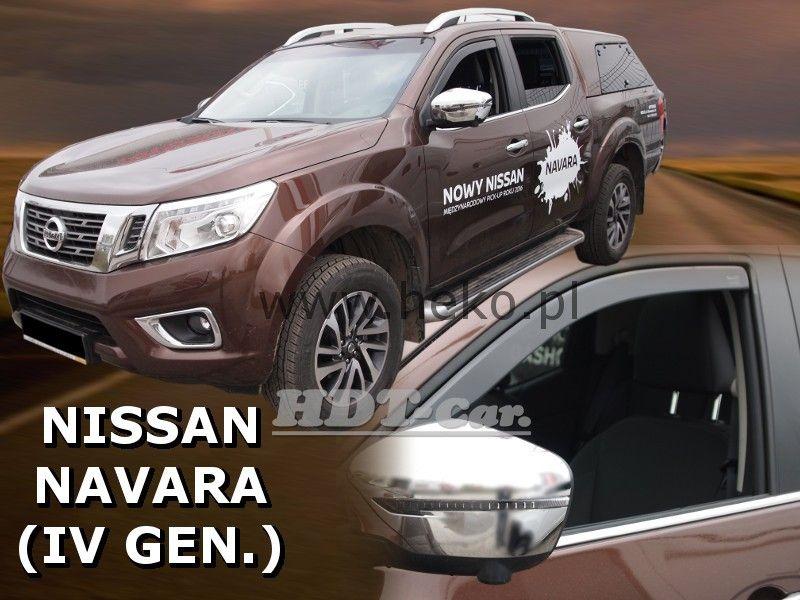 Plexi, ofuky Nissan Navara 2014 =>