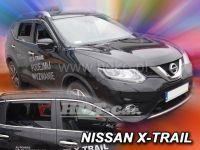 Ofuky oken Nissan X-Trail III 5D 2013r =>, 4ks prední+zadní