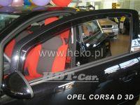 Ofuky oken OPEL Corsa D 3D, 2006, přední