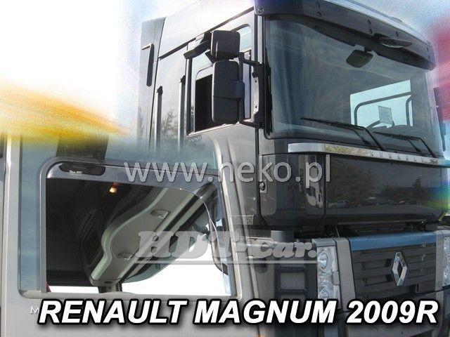 Plexi, ofuky RENAULT Magnum II 2009 =>, přední