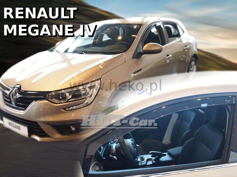 Plexi, ofuky Renault Megane IV 5D 16R