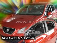 Ofuky oken SEAT Ibiza 5D, 2008 =>, přední