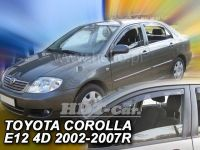 Plexi, ofuky Toyota Corolla 4/5D 02-2007 =>, přední HDT
