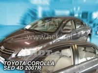 Ofuky oken Toyota Corolla 4D 2007 =>, sedan, přední + zadní