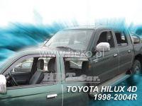 Ofuky oken Toyota Hilux 4D 98-2005 MK5 přední + zadní