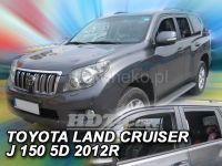 Ofuky oken Toyota Land Cruiser J150 5D 2009 => přední + zadní