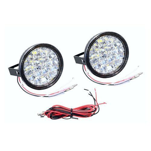 Led světla pro denní svícení 18 LED 12V hom. RL E4 (Regulation 87)