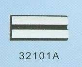 Samolepící ochranná lišta 20m černo-chrom