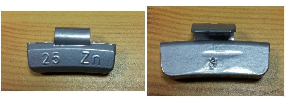 Závaží pro ocelové disky 45gr, 50ks