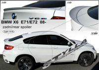 Spoiler zadní kapoty pro BMW X6 (E71, E72) 2008r =>