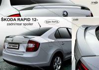 Zadní spoiler křídlo zadní pro ŠKODA Rapid 2012r =>