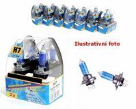 ŽÁROVKA modrá H7 Xenon halogen 12V 55W, 2ks