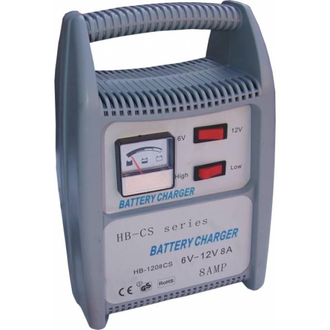 Univerzální nabíječka autobaterie akumulátorů 6V - 12V 8A analogová indikace